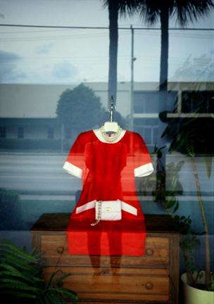 Wred dress